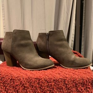 Old Navy Olive booties